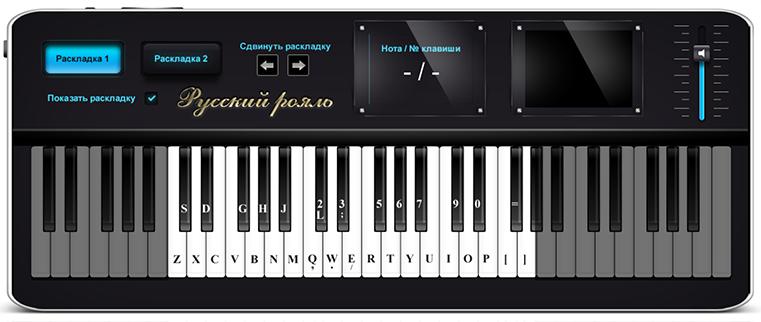 Онлайн пианино пригодно как